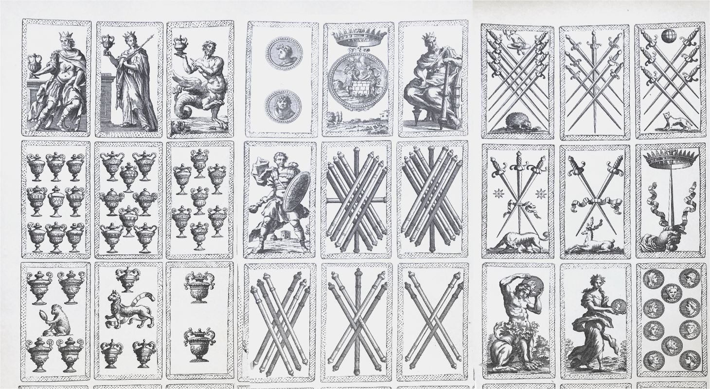 Italian playing card suits